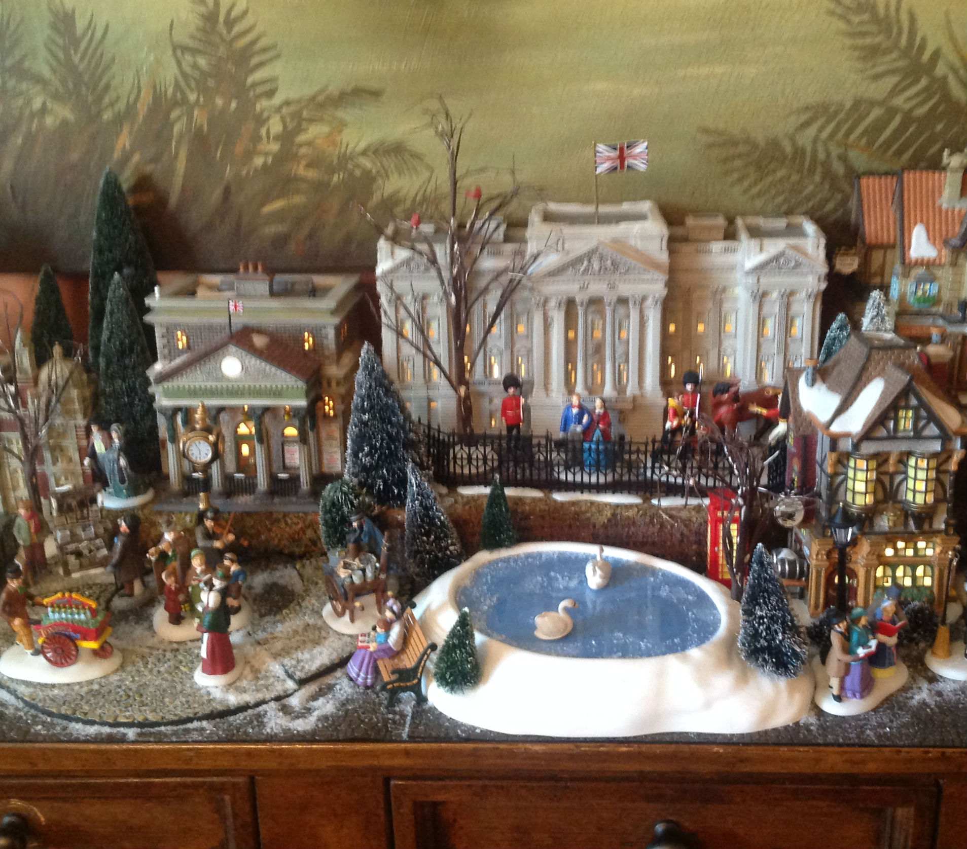 christmas-village-display