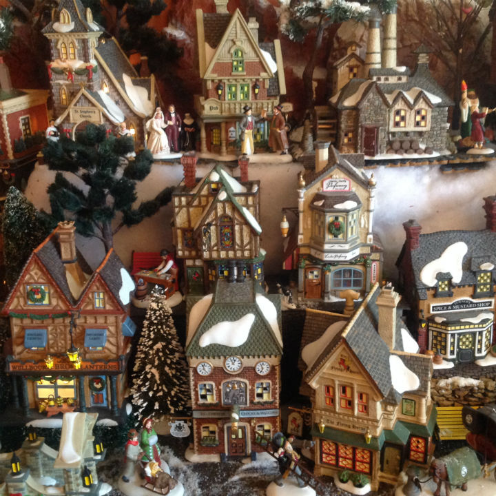 christmas-village-house-collection