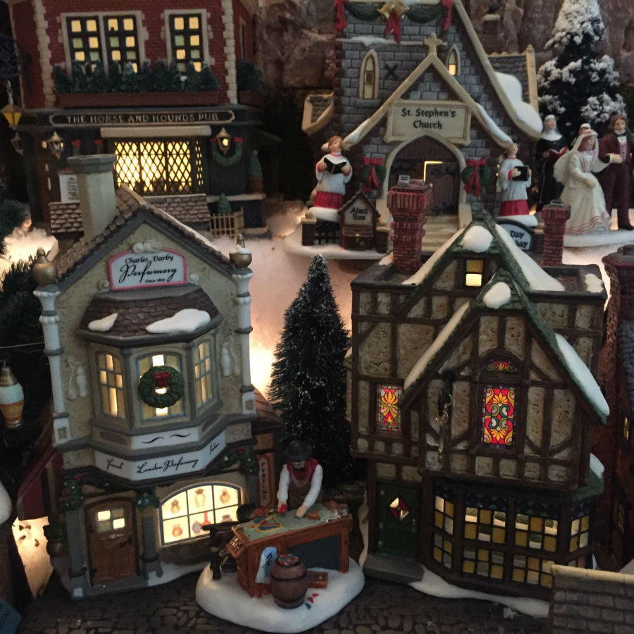 light-up-christmas-village-collection